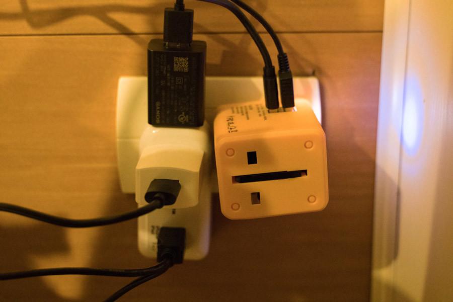 タイで使用したタコ足USBコンセント
