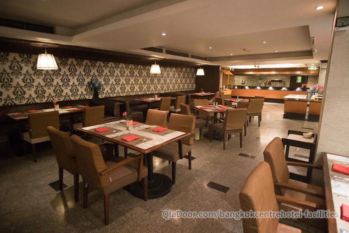 バンコクセンターホテルのレストラン