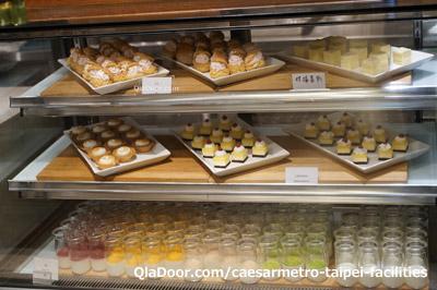 シーザーメトロ台北カフェのデザート