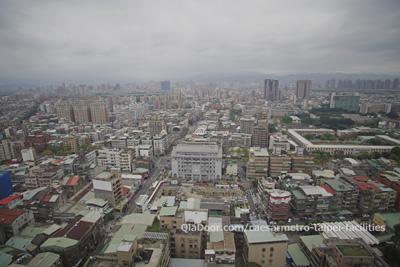 シーザーメトロ台北ホテルからの景色
