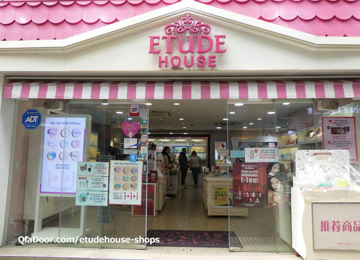 etudehouse(エチュードハウス)の日本店舗一覧