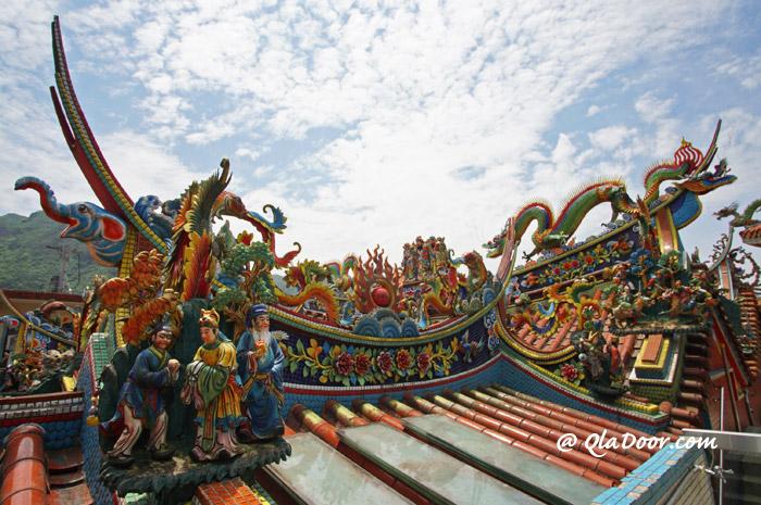 台湾の九份周辺観光スポット・金爪石(ジングァーシー)
