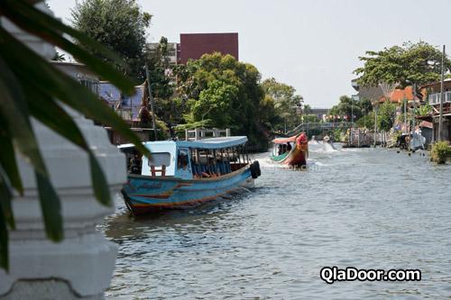 ワットパクナムのパーシーチャルーン川