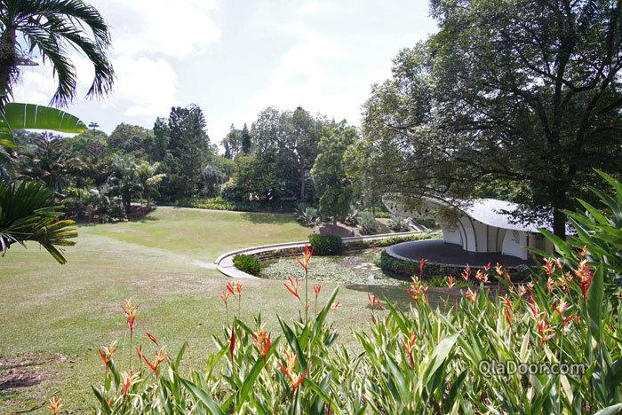 シンガポール植物園のコンサート・シンフォニーステージ