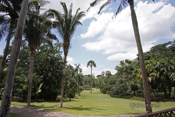 シンガポール植物園の大きさ