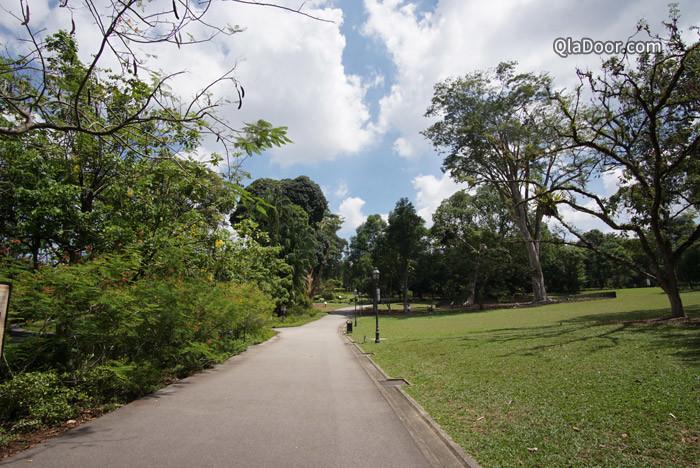 シンガポール植物園の所要時間