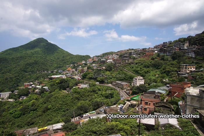 台湾・九份の天気と景色