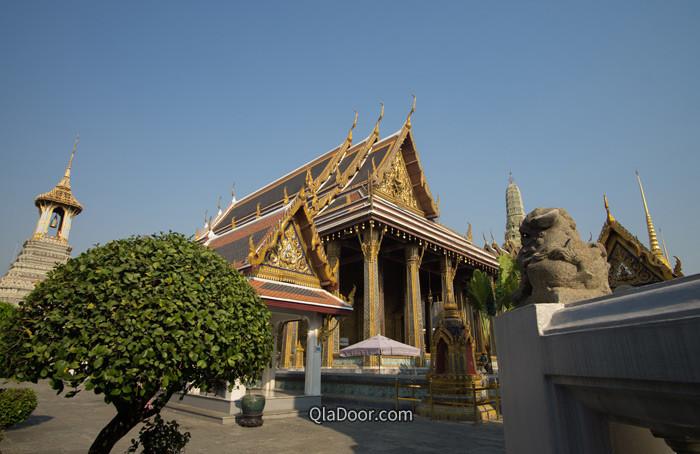 タイ・バンコクにあるワットプラケオの写真