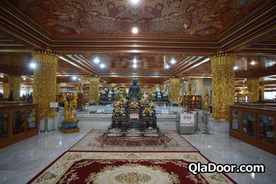 ワットパクナム寺院の博物館