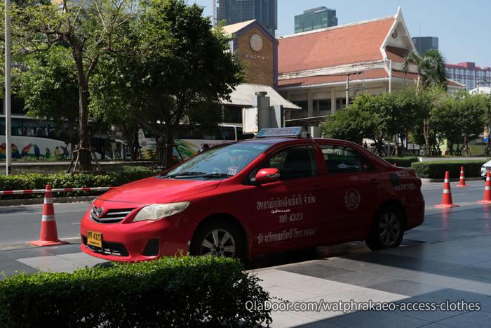 タイ・バンコクのメタータクシー