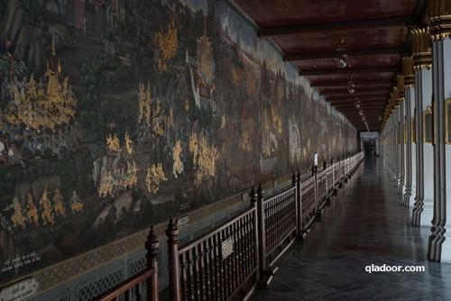 ワットプラケオ・回廊の壁画