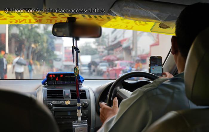 タイ・バンコクのタクシー
