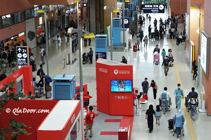 関西空港の様子
