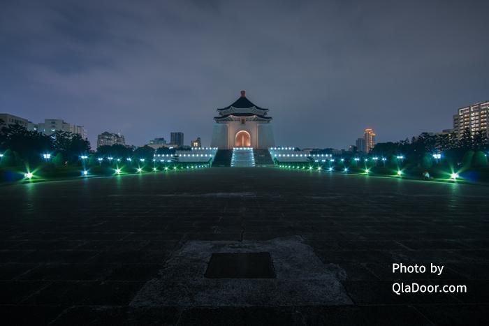 中正紀念堂のライトアップ時間