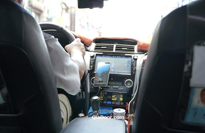 台湾迪化街のタクシーでの行き方