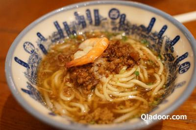迪化街・度小月の担仔麺