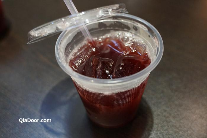 迪化街のグルメと飲み物・梅ジュース