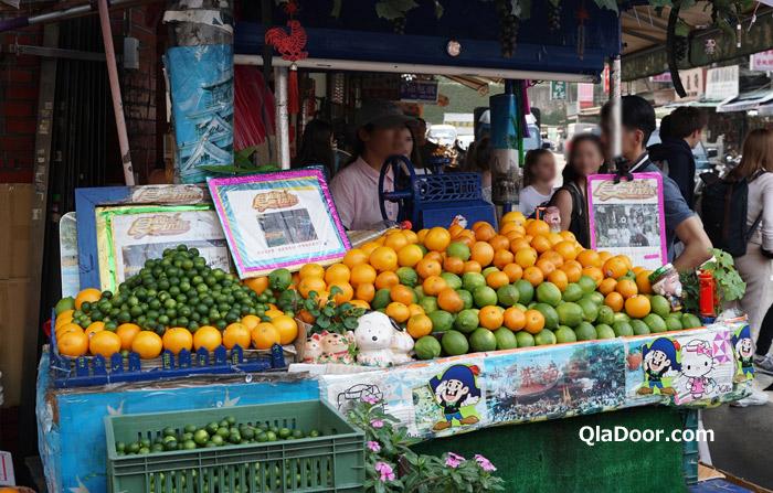 迪化街のフルーツジュース屋・金桔檸檬汁