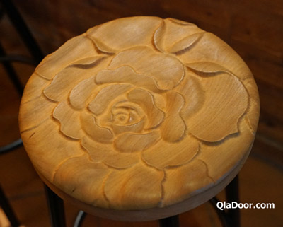 迪化街の魯蛋茶酒館の椅子