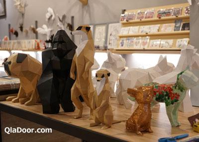 迪化街の典化文化藝術の紙芸動物