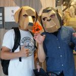 迪化街の紙製マスク・典化文化藝術