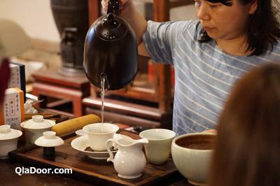 迪化街のお茶屋・臻味茶苑