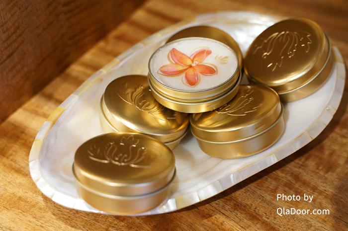 マリエオーガニクスのプルメリア香り・トラベルサイズのソイキャンドル