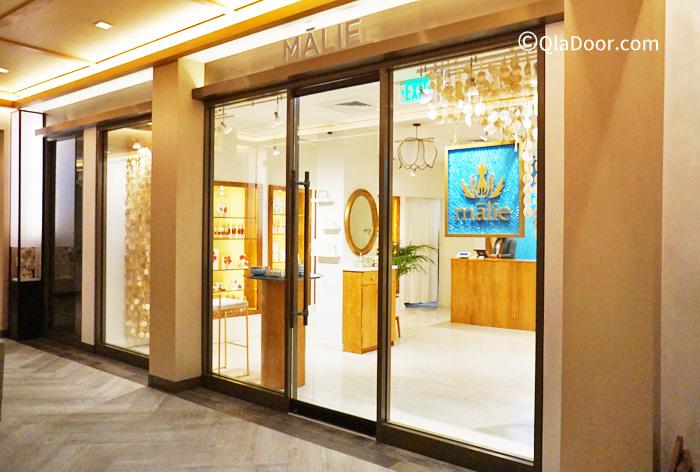 マリエオーガニクス店舗・アロヒラニ・リゾートホテル店