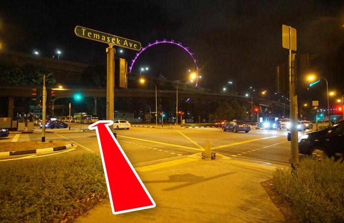 シンガポールフライヤーの最寄り駅と電車での行き方