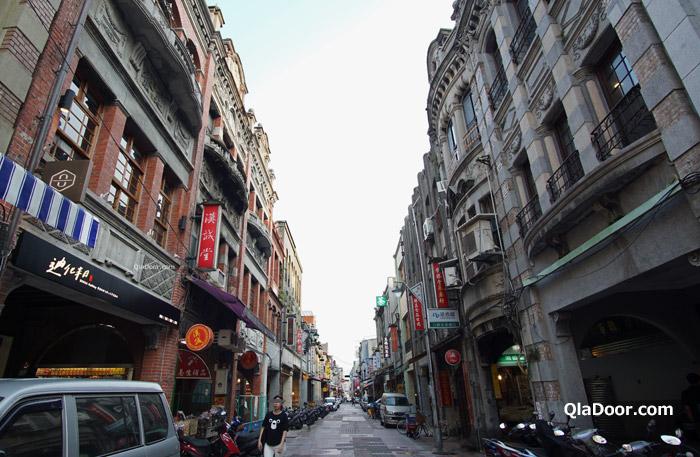 迪化街の街の風景写真