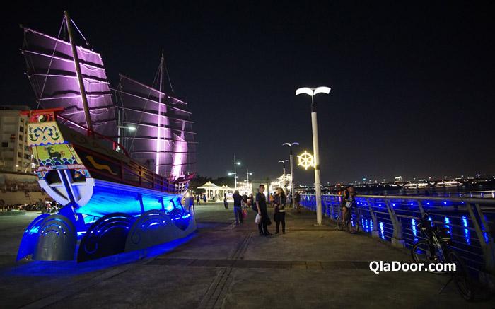 台湾観光スポット・迪化街の大稲埕碼頭(大同)グルメ