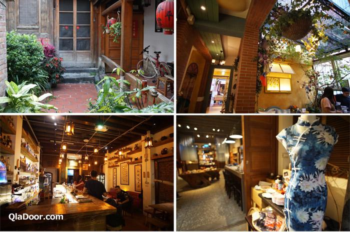 台湾・迪化街のお店のアンティーク系インテリア