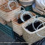 台湾・迪化街の人気お土産・竹のカゴバック
