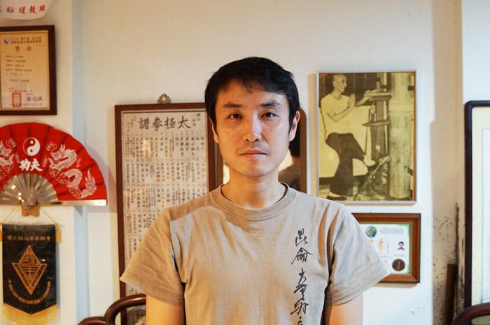 台湾迪化街の詠春拳日本人マスター