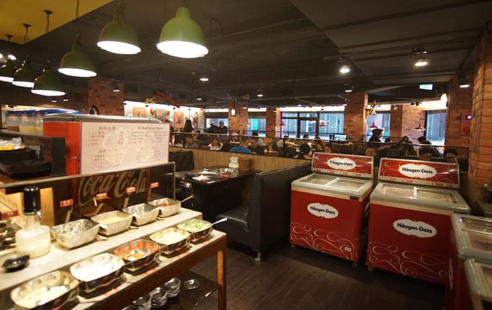 台湾グルメ・西門駅の熊一焼肉店