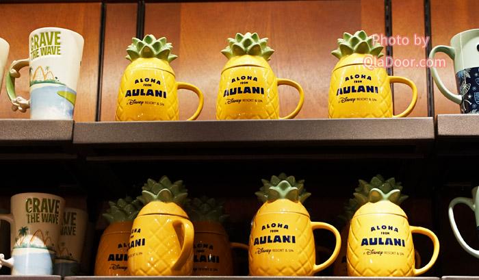 アウラニディズニー限定のパインアップルマグカップ