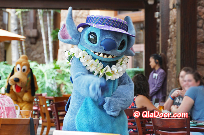 ハワイ・アウラニディズニーのキャラクターダイニング