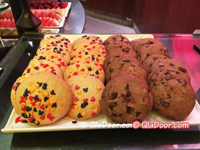 ハワイ・アウラニディズニーのディナー・チョコクッキー