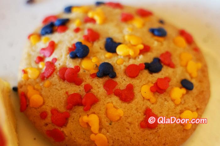 ハワイ・アウラニディズニーのディナー・ミッキークッキー