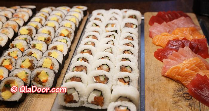 ハワイ・アウラニディズニーのディナーメニュー・寿司