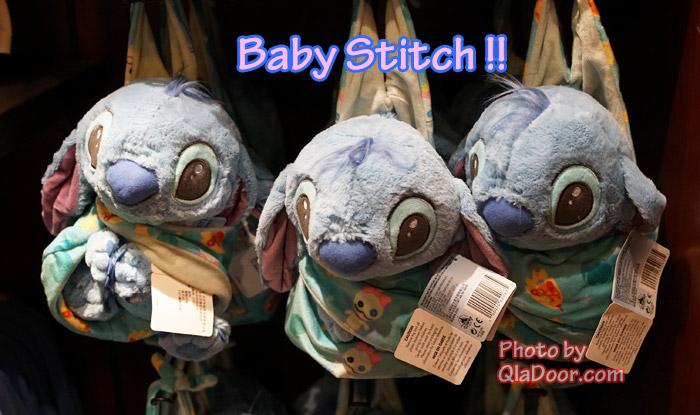 ハワイ・アウラニディズニーの赤ちゃんスティッチ