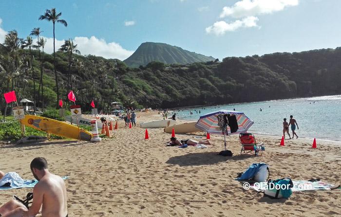 ハワイ・ハナウマベイビーチ