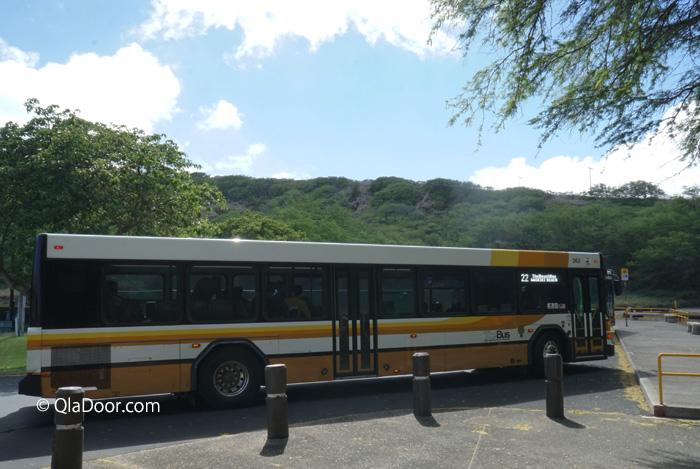 ハナウマ湾(ハナウマベイ)のザ・バスで行き方