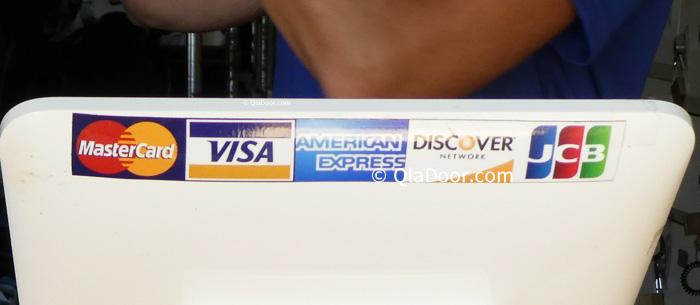 ハナウマ湾でレンタルの際使えるクレジットカード種類