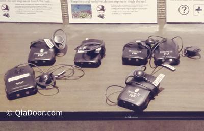 ハナウマ湾のビデオ鑑賞のための翻訳機