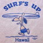 ハワイの日焼けスヌーピー・モニホノルル