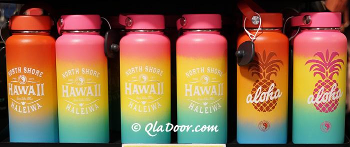 ハイドロフラスク・ハワイ限定のグラデーションとコラボ商品