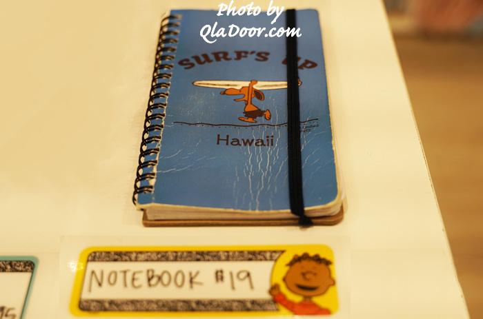 ハワイの日焼けスヌーピー・モニホノルルのノートと値段