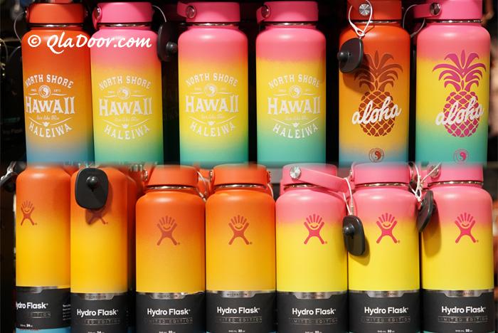 ハイドロフラスクのハワイ限定デザインと色