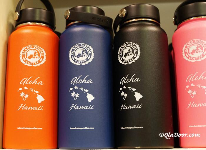 ハイドロフラスクとアイランド・ヴィンテージ・コーヒーのハワイコラボ商品